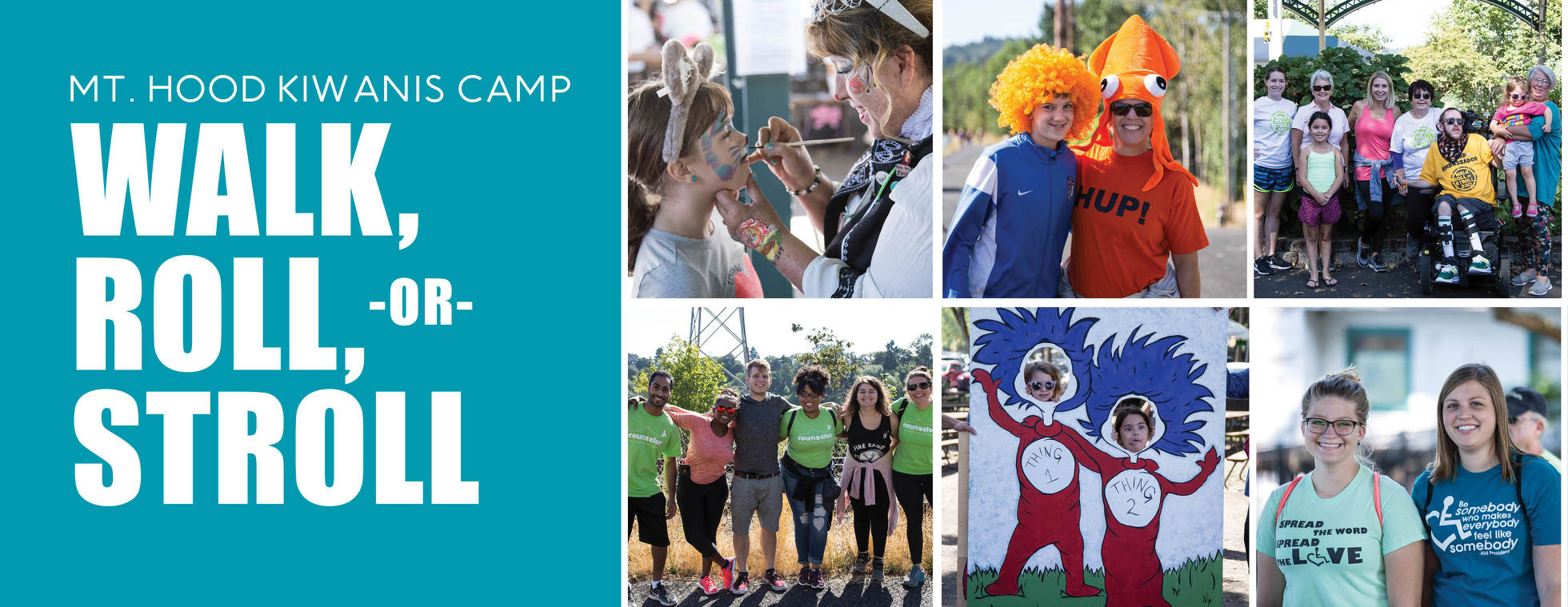 Mt. Hood Kiwanis Camp Walk, Roll, or Stroll